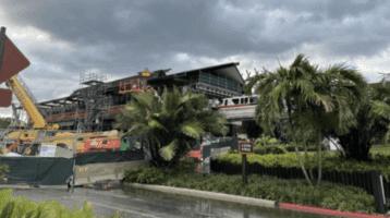 polynesian monorail construction