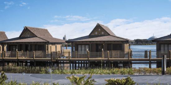 polynesian resort overwater bungalows