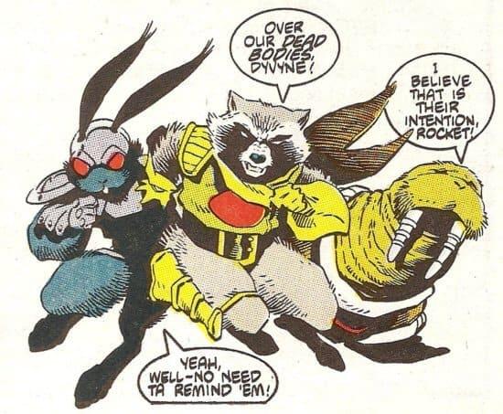 rocket racoon comics
