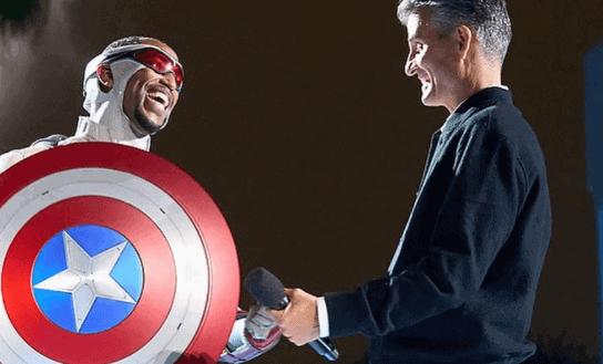 sam wilson captain america and josh damaro