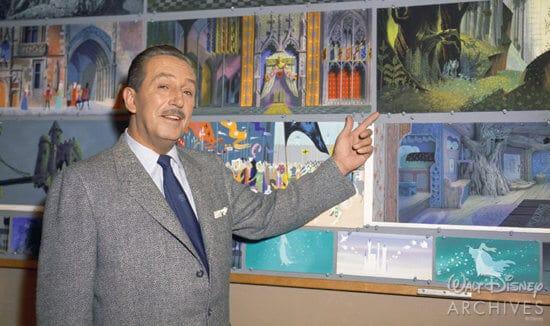 Walt Disney and Sleeping Beauty