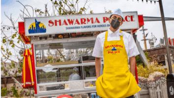 shawarma palace food cart