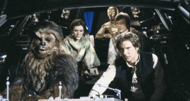 star wars group millennium falcon