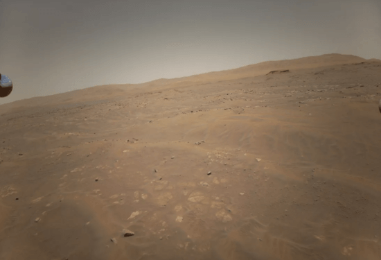 surface of mars ingenuity death star
