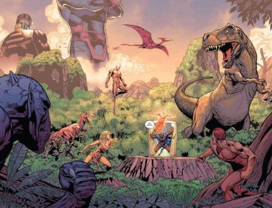 the savage land dinosaurs