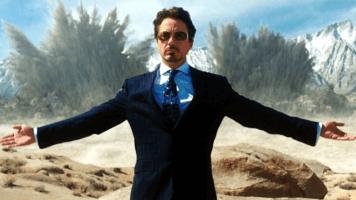 robert downey jr as tony stark iron man marvel