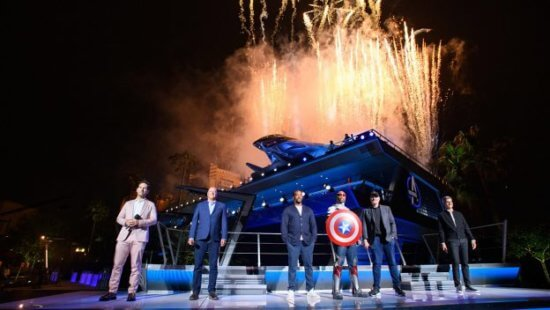 avengers campus opening ceremony