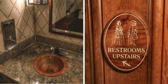 liberty tree tavern bathroom