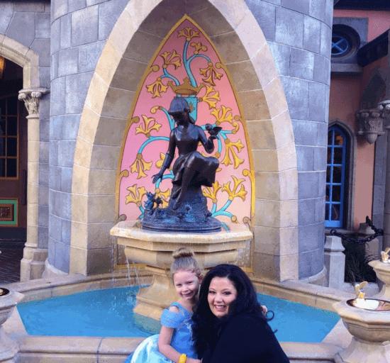 Cinderella Fountain adult height