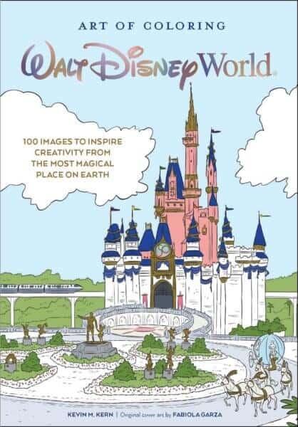 art of coloring disney world book
