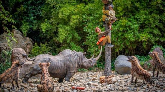 jungle cruise at disneyland park