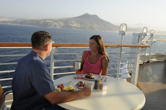 Dining disney cruise line