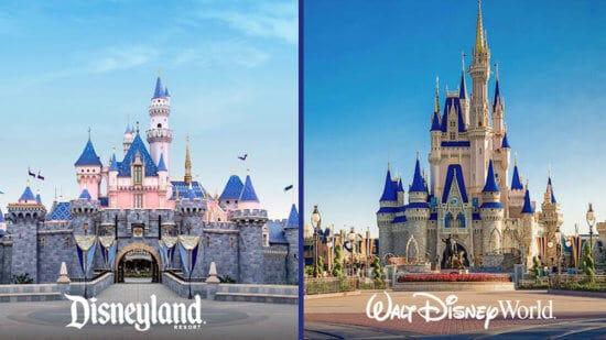 Disneyland resort and Walt disney world resort