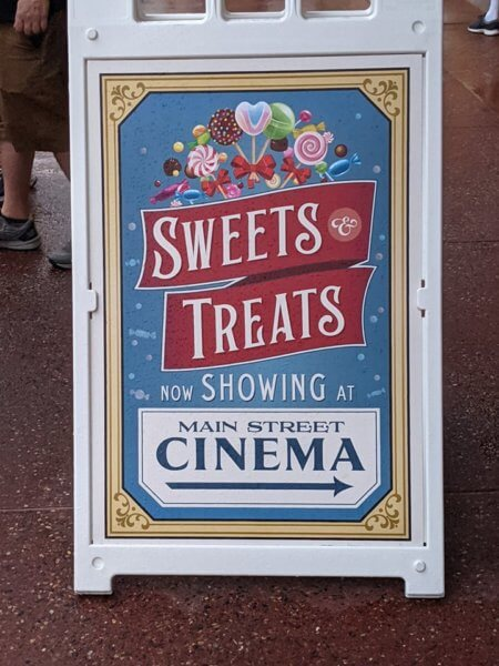 main street confectionary sign