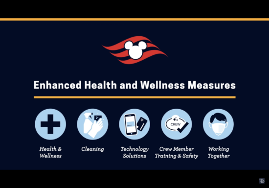 Disney cruise line Health and safety