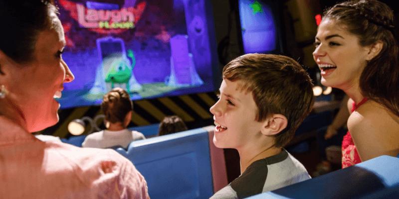 Monsters inc laugh floor at Walt disney world