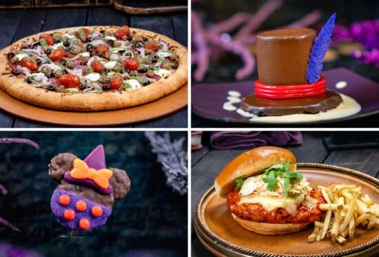 disneyland resort hallowewn food