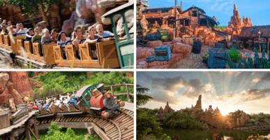 Big Thunder Mountain Disney Parks