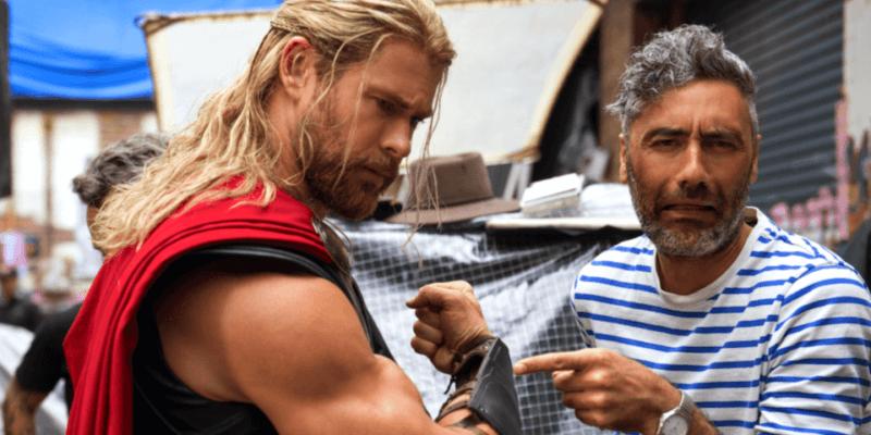 Chris Hemsworth Taika Waititi