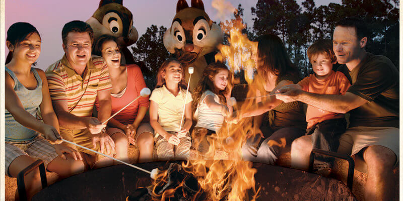 campfire disney world