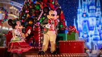 christmas disney world