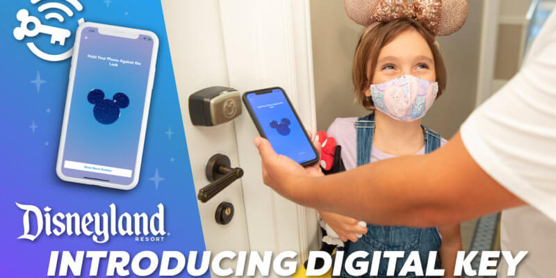 Disneyland Digital Key