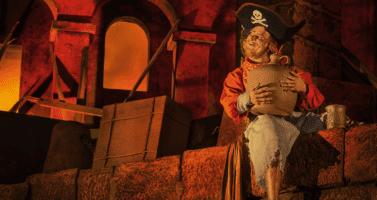 pirates of the caribbean animatronic disney