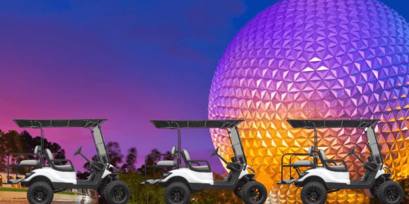 EPCOT golf carts