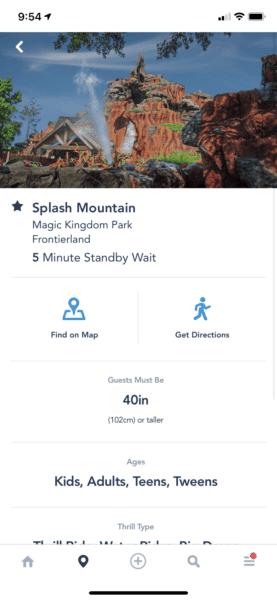 my disney experience splash mountain