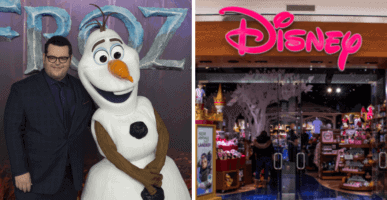 Josh Gad Disney Store