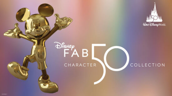 Mickey Mouse Fab 50 Sculpture
