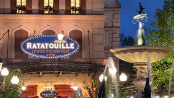 Ratatouille The Adventure Disneyland Paris