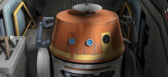 chopper droid close up