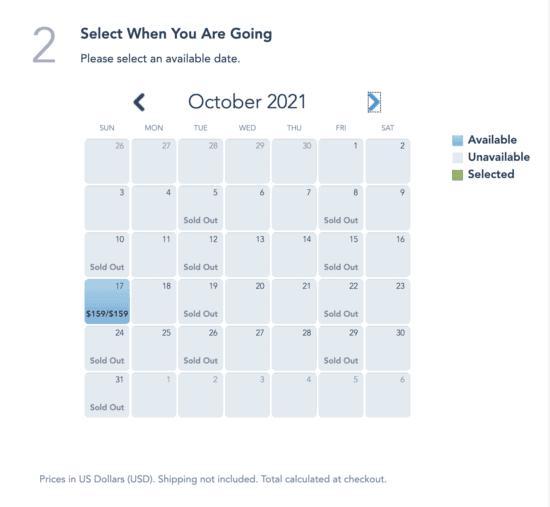 Boo Bash October Dates