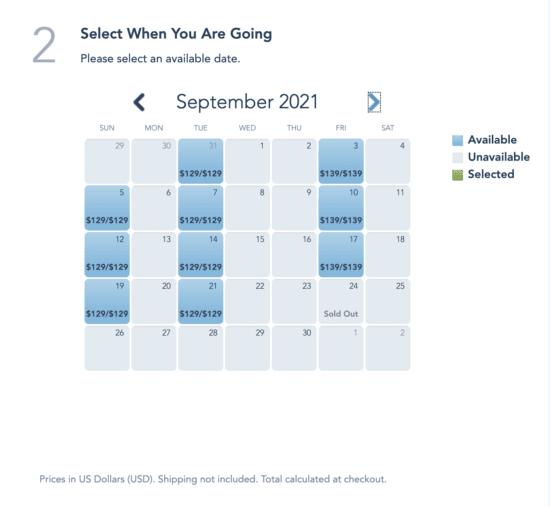 September Boo Bash Dates
