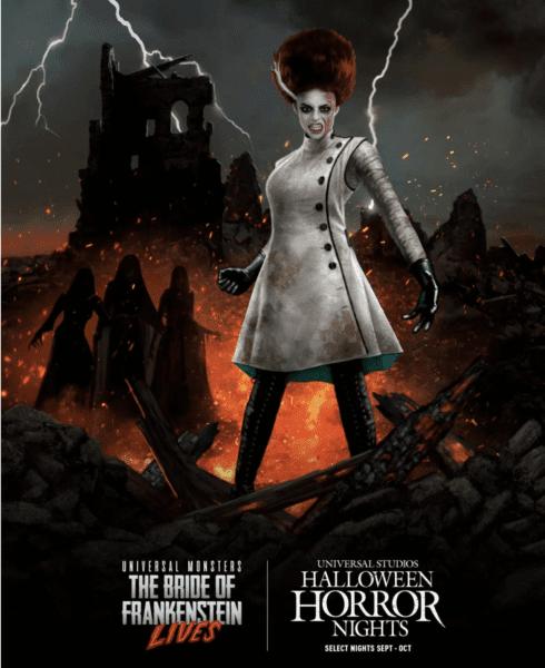 Bride of Frankenstein Halloween Horror Nights