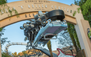 rock'n'roller coaster entry disney's hollywood studios