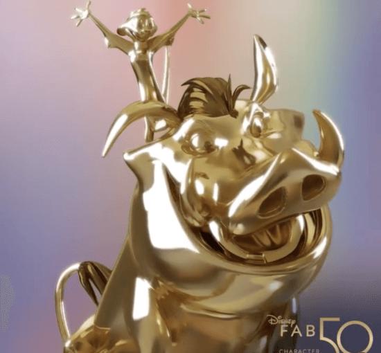 Timon/Pumbaa Statue Fab 50