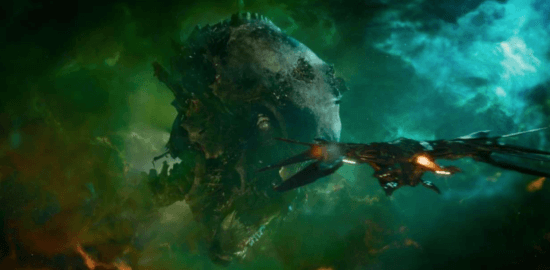 knowhere from guardians of the galaxy celestial head