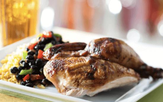 Chicken dish Sunshine Season's at Epcot