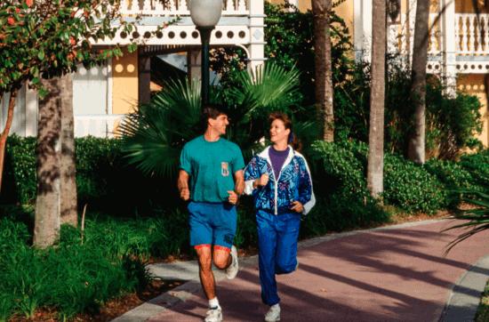 jogging disney world