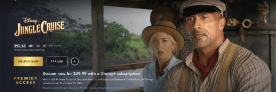 Disney+ Premier Access