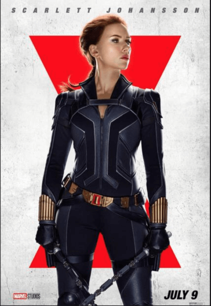 Black Widow solo poster