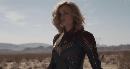 Brie Larson as Carol Danvers AKA Captain Marvel