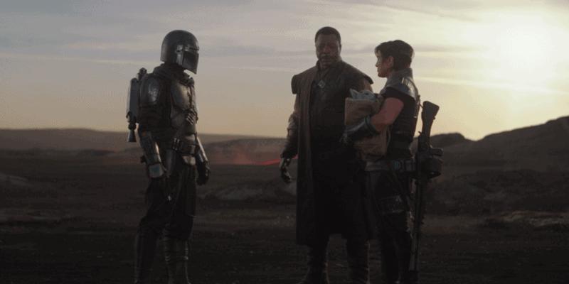 Mandalorian, Cara Dune and Greef Karga