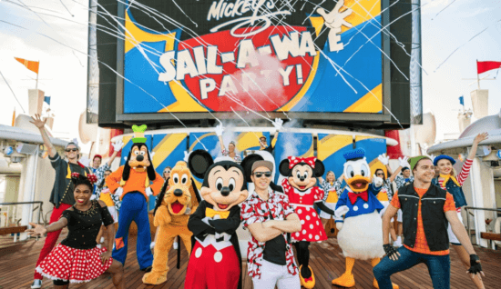 Disney Cruise Line Sail-A-Wave Party