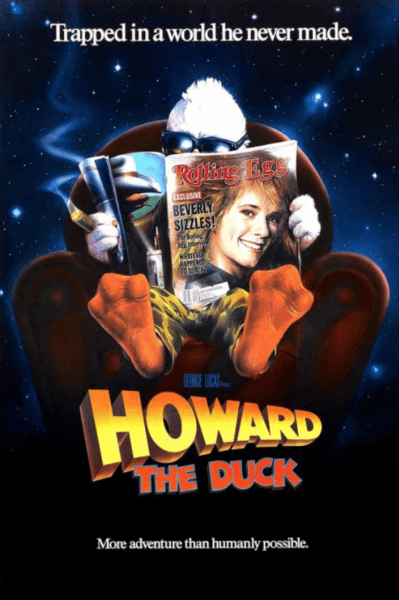 Howard the Duck movie poster