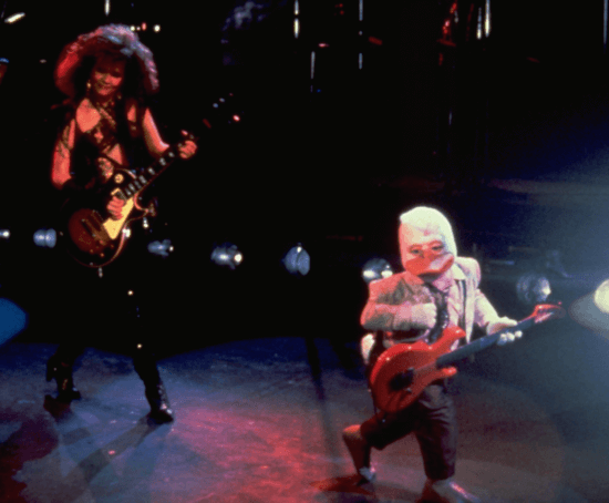 Howard the Duck on stage