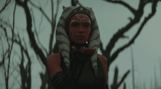 Ahsoka Tano using the force