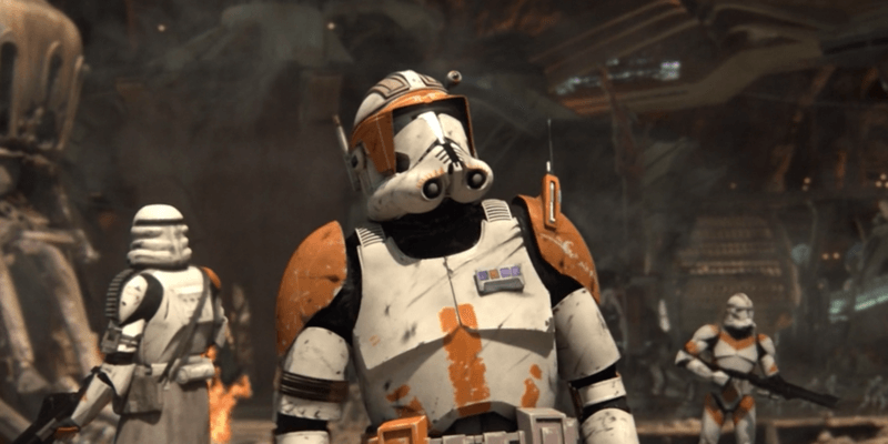 Clone Troopers during Order 66